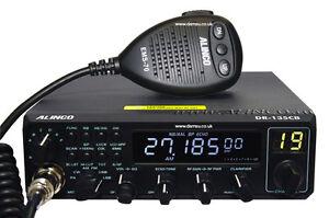 Alinco DR135DX UK AM FM SSB HF 10m Mobile Transceiver 25.0 to 29.7MHz