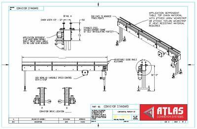 Conveyor Table Top Heat Resistant Stainless Steel Belt 60l X 4.5 W