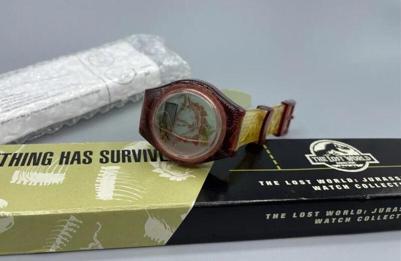 Lost World Jurassic Park Something Has Survived 1997 Digital Watch Burger King