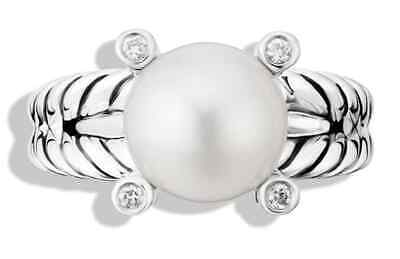 - Cable Pearl Ring Sterling Silver Diamonds by David Yurman at Nordstrom's Dept.