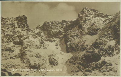 Isle Of Skye Sgurr Alasdair From Coire Lagan Real Photo Valentines