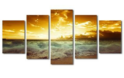 5 Panels Haichuang Decor Art Canvas HD Twin Print On Canvas Ready to Hang