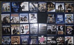 Blu-ray Movies $5 unless listed