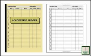 accounting ledger ebay