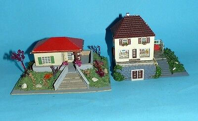 2 Holzhäuser Villen am Hang OWO Temos 60er Jahre DDR (D3)