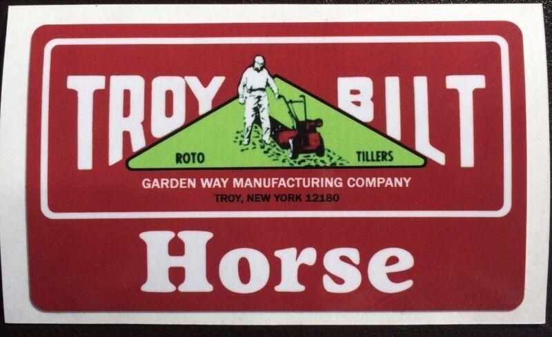 Troy Bilt Horse Horse Hood Decals
