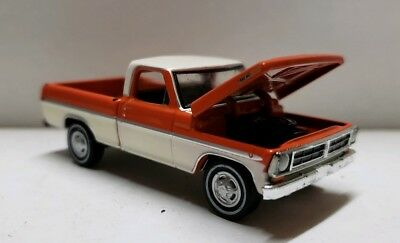 1970 Ford F150 short bed Truck 1:64 Scale 4x4 f100 4WD f350 150 tires hitch tow for sale  Warrensburg