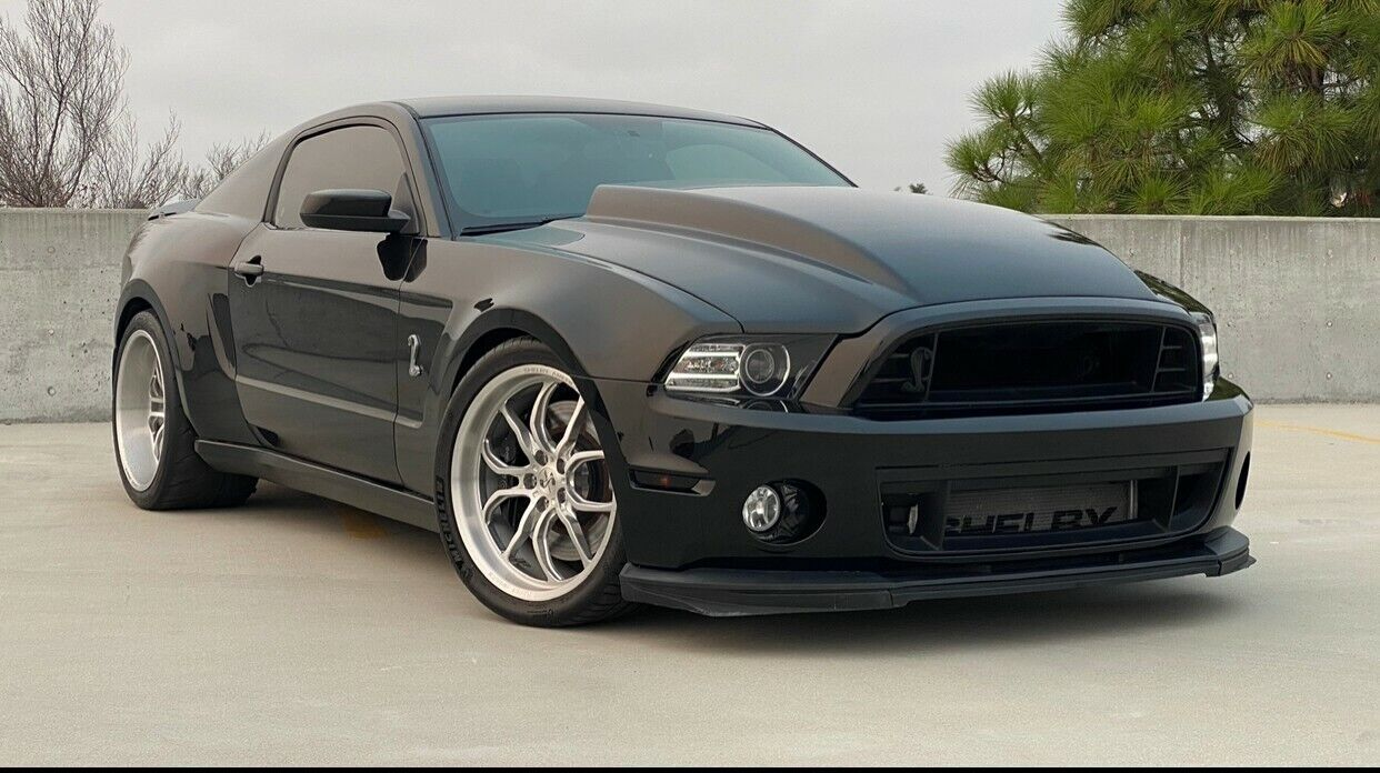 2014 Shelby Gt500 Mustang Super Snake Wide Body