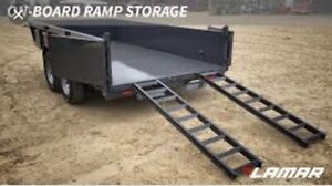 WANTED 2 DRIVE ON RAMPS FOR A DUMP TRAILER