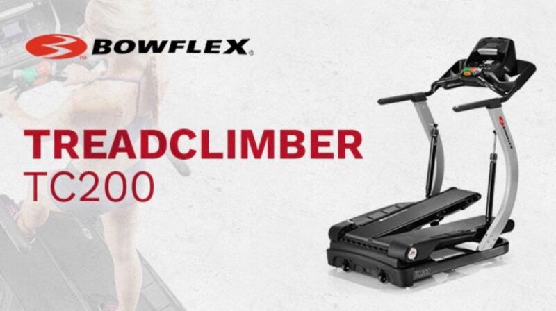 NEW Bowflex Treadclimber TC200