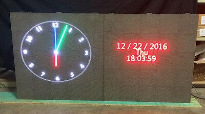 P6 Led Digital Sign Indoor Outdoor One Side Display Custom Programmable 76x38x8