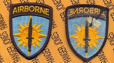 US Army Special Operations Command Pacific Airborne SOCPAC uniform patch m/e  ()