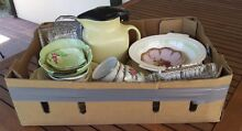 Box of Bric a Brac inc.Carlton Ware Johnson ware depression glass Murrumbeena Glen Eira Area Preview
