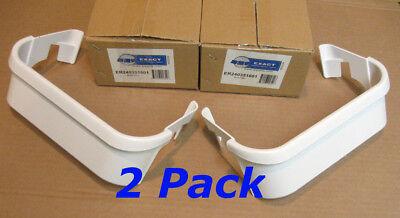 2 Pack 240351601 Frigidaire Electrolux Refrigerator Freezer Door Bin Shelf White