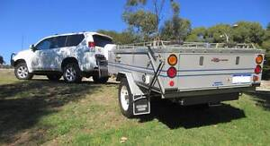 Aussie Swag Camper AND Toyota Prado GXL White Gum Valley Fremantle Area Preview