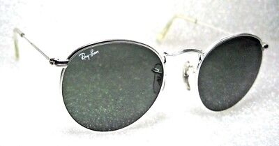 Ray-Ban USA Vintage NOS B&L W2247 Etched White Gold ClassicMetals New Sunglasses