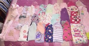 28pc BULK BABY GIRLS CLOTHES sz 00 3-6m ALL IN 1 JUMPSUITS ONESIES GUC Morphett Vale Morphett Vale Area Preview