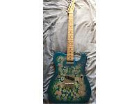 Fender FSR Japan '69 Classic Telecaster (Blue Flower)