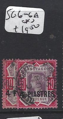 BRITISH LEVANT (P1206B) QV  4 PI/10D  SG 6-6A  VFU