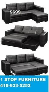 BLACK FRIDAY SALE  SOFA BED  $699/ ONLY WITH STORAGE