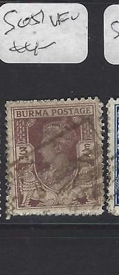 BURMA  (P2109B)  KGVI   3P   SG 51   VFU