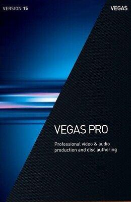 Vegas Pro 15 - Magix ( Sony ) - Latest Windows Version / Video Editing Software