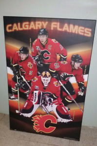 Very large Calgary Flames Picture