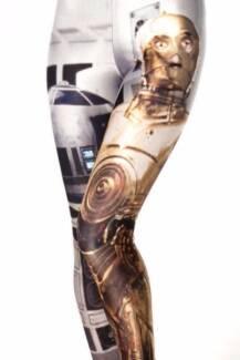 "Black Milk Star Wars ""R2D2 / C3PO"" Leggings / Tights"