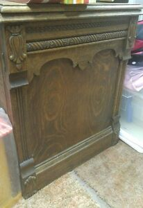 T EATON antique sewing machine in oak cabinet London Ontario image 2