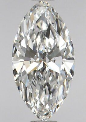 GIA Certified Diamonds - 1/2 Ct Marquise Cut Cheap Diamond - VS2 Clarity GIA