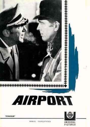 Burt LANCASTER Dean MARTIN Jean SEBERG French Pressbook AIRPORT