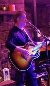 Singer guitarist available for parties and events