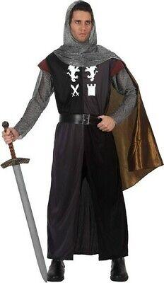 Cheap Knight Costume (Costume Man KNIGHT Medieval XL Tristan Arthur NEW)