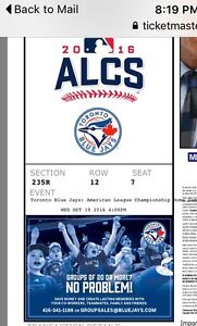 Blue Jays game 5 ALCS, Wednesday Oct 19