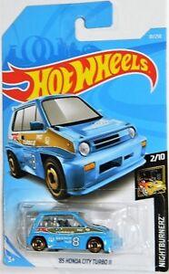 Hot Wheels 1/64 '85 Honda City Turbo II Diecast Car