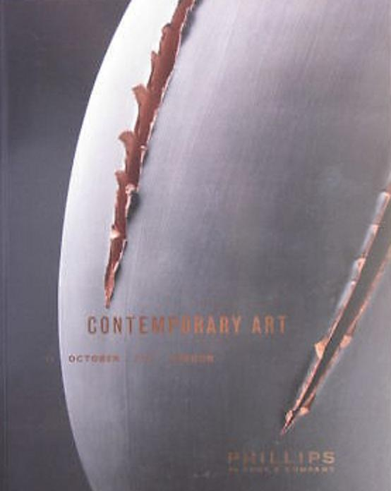 Phillips Sale UK010509 Contemporary Art London LARGE Auction Catalog 2009