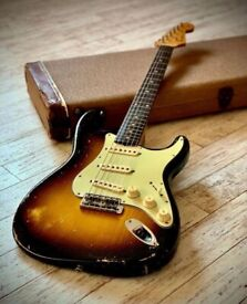 WANTED Vintage Fender Stratocaster 1950s or 1960s Pre-CBS