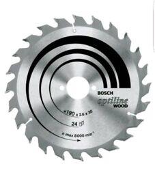 Bosch Optiline Wood circular saw blade 235 x 30/25 x 2,8mm, 24 (2 608 640 725...
