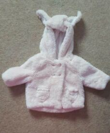 Next baby girl fur coat
