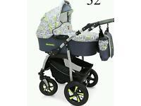 Baby pram 3in1 Verdi Sonic