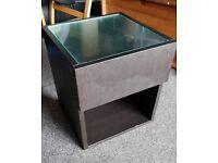 **£8** Ikea Malm Black Wooden Table