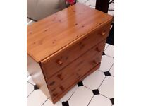 Chest of Pine Drawers