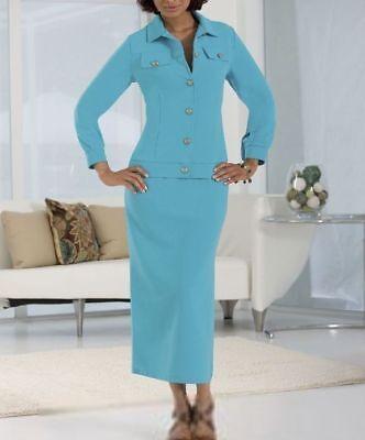 Mini Ottoman Lime Brown Black Ivory Burgundy Skirt Suit Monroe Main S 1X 2X - Lime Suit