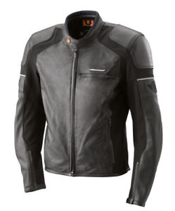 80% KTM Manteau de Moto en Cuir SPEED JACKET (L)
