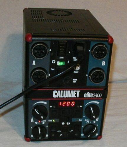 Bowens Calumet 2400 Elite Photographic Lighting Power Pack Transformer ONLY