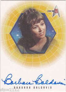 STAR-TREK-ORIGINAL-SERIES-35TH-ANNIVERSARY-A26-BARBARA-BALDAVIN-AUTOGRAPH