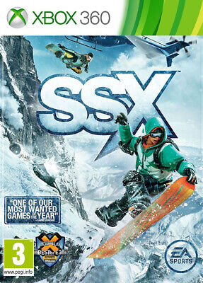 SSX XBox 360 Skiing/Snowboarding *in Good Condition