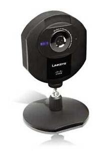 cisco linksys wvc80n internet home monitoring color camera