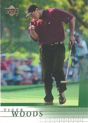 2001 Upper Deck Tiger Woods #1 Golf Card