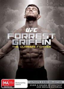 UFC - Forrest Griffin - The Ultimate Fighter (DVD, 2-Disc Set) New/Sealed!